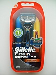 Станок Gillette FUSION ProGlide Power + 1 кассета